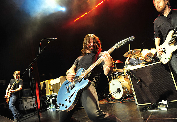 Dave Grohl, Music, ... | Ages Dave Grohl and Nate Mendel are 43, Taylor Hawkins and Chris Shiflett are 40, and Pat Smear is 52. Hometown Formed in Seattle, now…