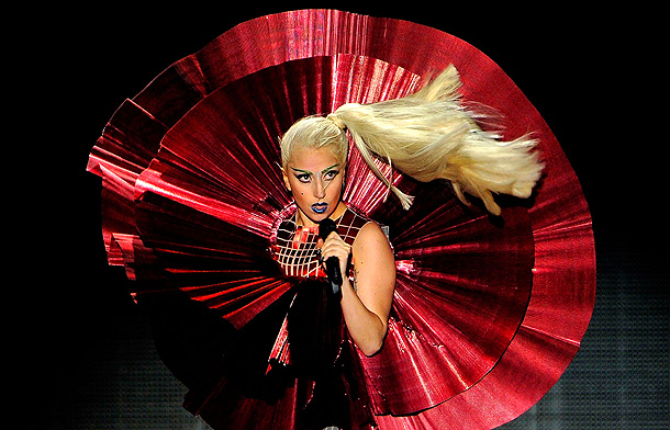 Lady Gaga, Music | Age 26 Hometown New York City Why we love her The songs, the videos, the today-a-wombat-tomorrow-a-helicopter headgear?those are all great, but Gaga's singular attribute is…