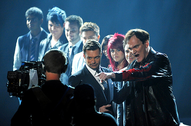 Quentin Tarantino is best known in Idol circles for his season 3 guest judging stint when he told a stunned Diana DeGarmo, ''You pulled off…
