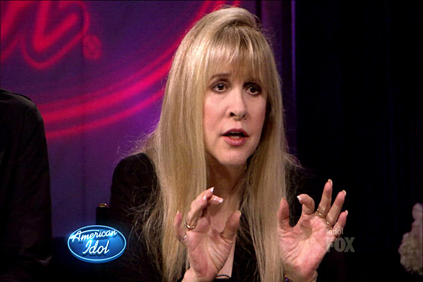 American Idol | Stevie was warm and gracious during her sessions with all the contestants, but she had a soft spot for Phillip Phillips: She said Mick Fleetwood…