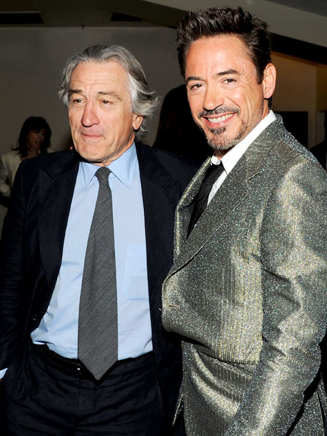 Robert De Niro, Robert Downey Jr., ...