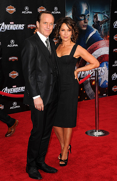 CLARK GREGG WITH JENNIFER GREY Clark Gregg: ''My money is almost uniformly on Scarlett Johansson. Who is going to stand in her way? Women generally…