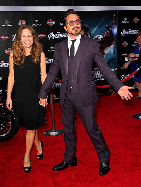 ROBERT DOWNEY JR. WITH SUSAN DOWNEY Robert Downey Jr.: ''Well, not all of us are in the same weight class so it is hard to…