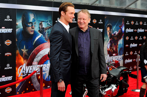 Our burning question for the stars at the L.A. premiere of The Avengers : Which Avenger — and actor in the ensemble — would win…