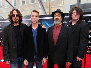 Avengers Premiere Soundgarden