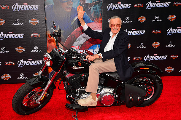 STAN LEE ''Very honestly it depends on who is writing it and who he wants to win. We writers are a little like God. I…