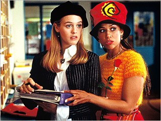 LIKE, TOTALLY Alicia Silverstone and Stacey Dash in Clueless