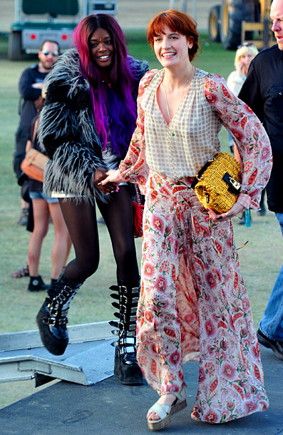 Florence Welch, The Coachella Music and Arts Festival