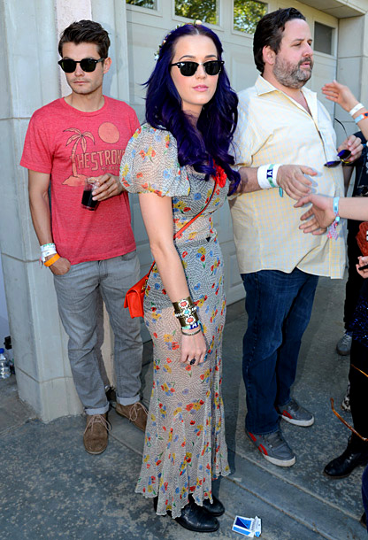 Katy Perry, The Coachella Music and Arts Festival