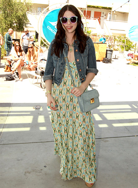 Michelle Trachtenberg, The Coachella Music and Arts Festival