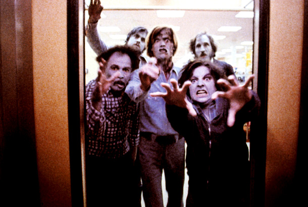Dawn of the Dead (Movie - 1978) | NIGHT OF THE LIVING DEAD (1968), DAWN OF THE DEAD (1978; pictured), DAY OF THE DEAD (1985), picked by Joss Whedon Cabin co-writer Whedon once…