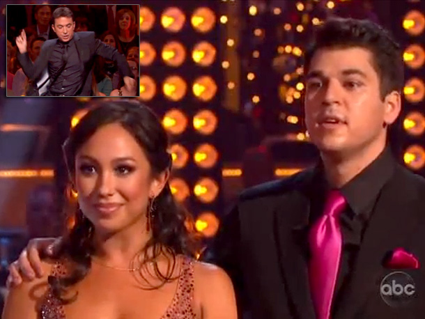 Quickstep (Season 13) Take it from Bruno, Rob: ''Once you know what to do with your bum, everything else falls into place.''