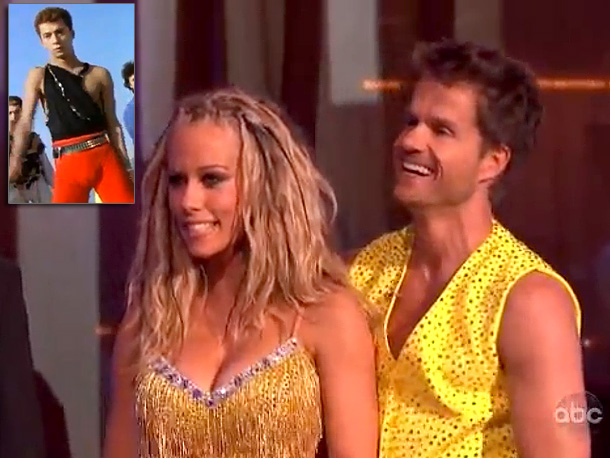 Samba (Season 12) '' Dancing With the Stars presents The Revenge of the Stripper, Part 1: The Attack of the Killer Boobs. Let's do it…