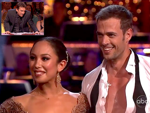 Argentine Tango (Season 14) ''Pulsating passion! Thrrrrrrrrrrobbing intensity. Slick! Sexy. Clooney-licious,'' was all Bruno could spit out before seductively lowering himself back into his seat.