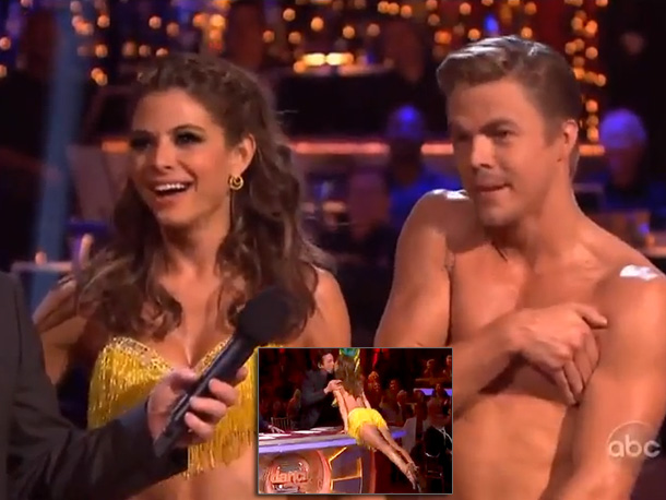 Salsa (Season 14) Bruno had three questions for the Greek goddess of injury and crotch-bobbin' Derek: ''Was it legal? Should I get you a room.…