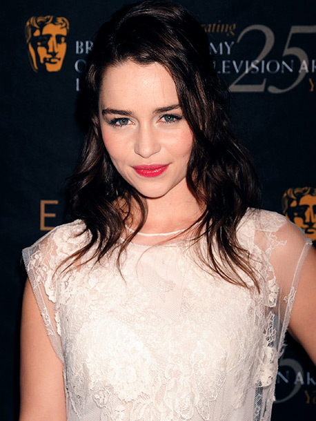 Emilia Clarke | ''I think Emilia Clark (Dany from Game of Thrones ) would make the [best] Ana. She is naturally a brunette, has blue eyes, delicate beauty-basically…