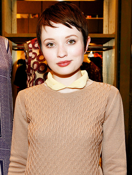 Emily Browning | ''I can see Emily Browning (with brown hair) as a great Anastasia.'' — GuestReader