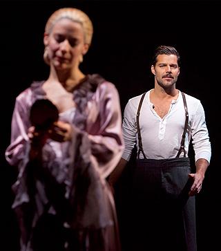 EVITA Elena Roger and Ricky Martin