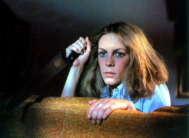 Jamie Lee Curtis, Halloween (Movie - 1978) | HALLOWEEN (1978), picked by Drew Goddard John Carpenter's slasher movie was a key influence on The Cabin in the Woods which, like Halloween , features…