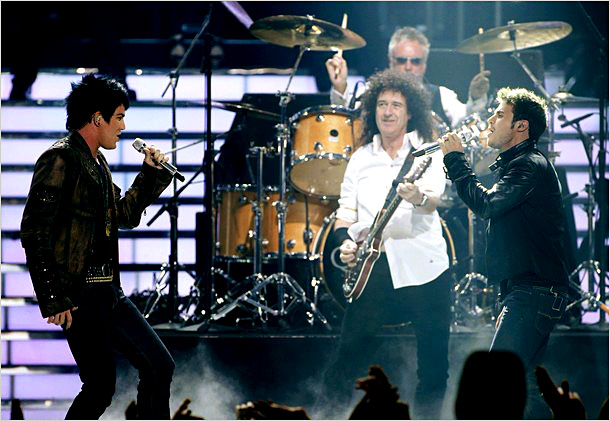 Kris Allen, Adam Lambert, ... | Song: ''We Are the Champions'' Theme Week: Season finale, performed with Queen Maybe the best Idol Queen performance ever. Adam Lambert, Kris Allen, and the…