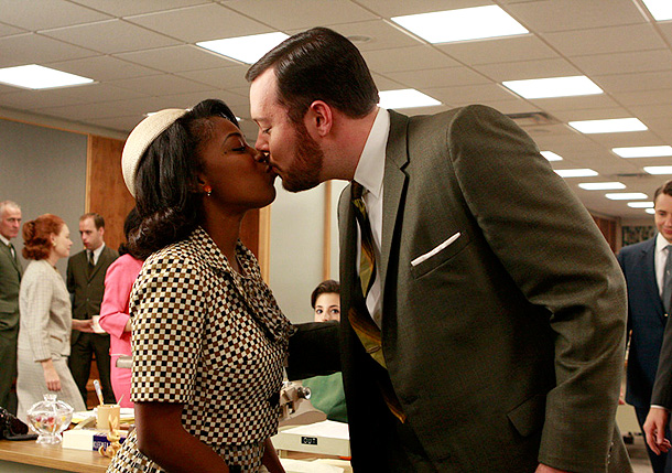 Mad Men | Paul Kinsey (Michael Gladis) fancied himself an iconoclast — so it's no surprise that he was the first character on Mad Men to date across…