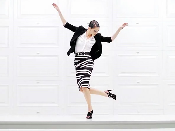 Model Coco Rocha delivers a (literally) kicky tabletop tap dance to a squelchy disco-boogie reworking of the NYC rockers' 2007 indie hit. Where to find…