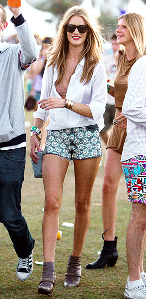 Rosie Huntington-Whiteley, The Coachella Music and Arts Festival