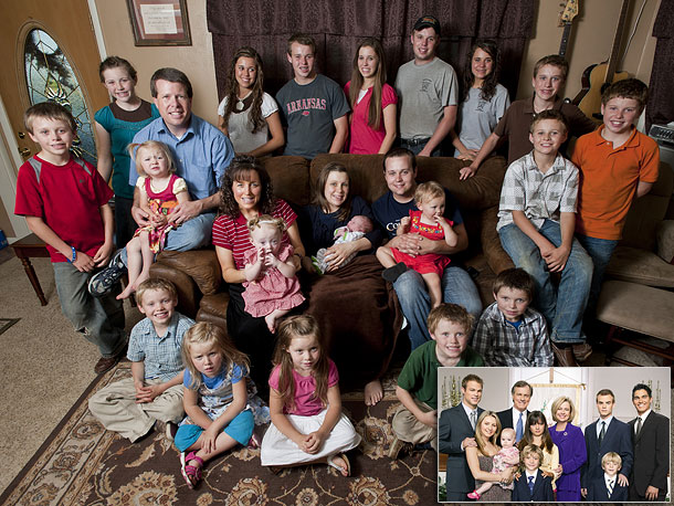 Most like: The Camdens ( 7th Heaven , 1996-2007) The Duggars and the Camdens are both giant, God-fearing families, alike in dignity if slightly different…
