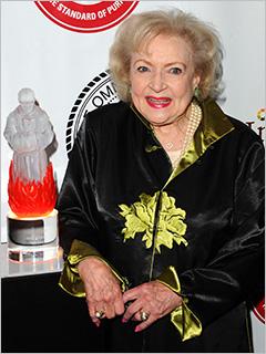 Betty White Roast