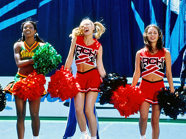 Eliza Dushku, Kirsten Dunst, ... | Cheerleading has been around on Broadway notably back in the days of Grease and Bye Bye Birdie , but it takes on a new life…