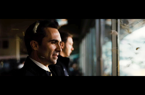 The Dark Knight Rises   Blink and you'll miss a shot of Nestor Carbonell, reprising his role as Gotham mayor Anthony Garcia. Carbonell is better known as Lost 's immortal…