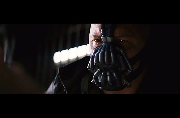 The Dark Knight Rises   ''Why didn't you just kill me?'' asks an apparently captured Bruce Wayne. ''Your punishment must be more severe,'' says Bane. Much of Bane's plot is…