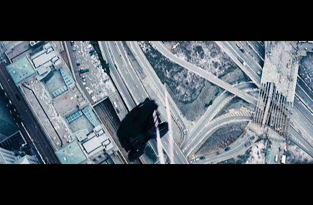 The Dark Knight Rises   You might not have noticed this the first time you saw the trailer, but the Bat-Plane isn't just doing some spin maneuvers for the sake…