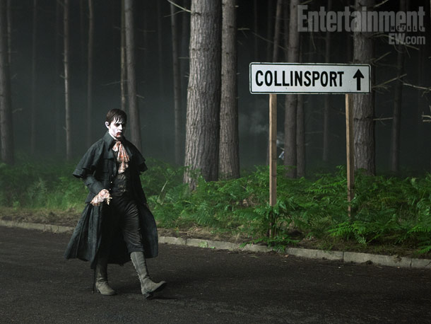 Dark Shadows, Johnny Depp | For more photos and inside dish on Tim Burton, Johnny Depp, and Dark Shadows , buy the new issue of Entertainment Weekly here.