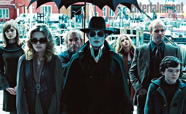 Johnny Depp, Michelle Pfeiffer, ...