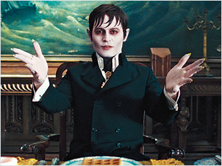 GHOULISHLY ENDEARING Johnny Depp gets his freak on in Dark Shadows