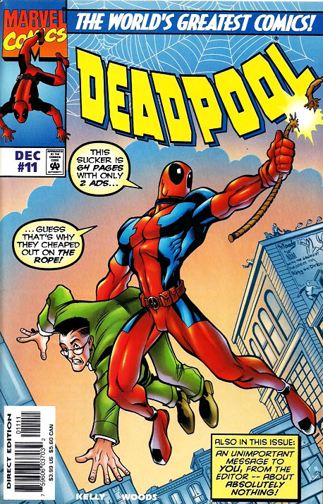 Deadpool was invented in the midst of the early-'90s boom for murderous characters, with code names that usually combined ''Death'' or ''Kill'' or ''Blood.'' (Heck,…