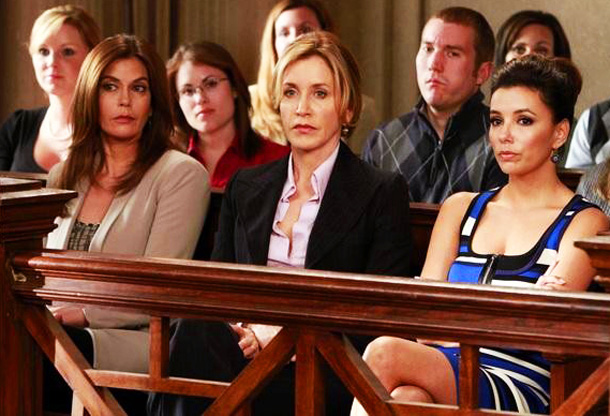 Teri Hatcher, Felicity Huffman, ... | You know Desperate Housewives (9 p.m., ABC), a show that released its own death montage in anticipation of its series finale, will not go gentle…