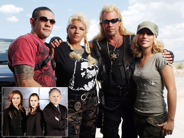 Most like: The Bristows ( Alias , 2001-2006) Like Sydney and her father Jack, Duane ''Dog'' Chapman and his sons know a thing or two…