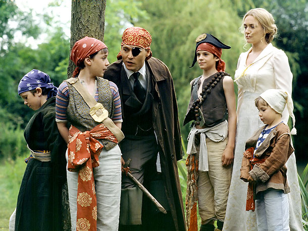 Nick Roud, Johnny Depp, ... | Technically, Finding Neverland isn't totally based on a movie. The J.M. Barrie-cum- Peter Pan origin story is, as my colleague Darren Franich puts it, ''a…