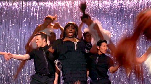 The song: ''Boogie Shoes,'' originally by KC & The Sunshine Band The episode: ''Saturday Night Glee-ver'' (316) The hook: There was no stopping transgender disco…