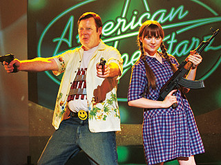 GOD BLESS AMERICA Joel Murray and Tara Lynne Barr