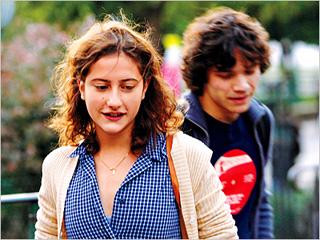 DEEP EMOTION Camille (Lola Creton) and Sullivan (Sebastian Urzendowsky) in Goodby First Love