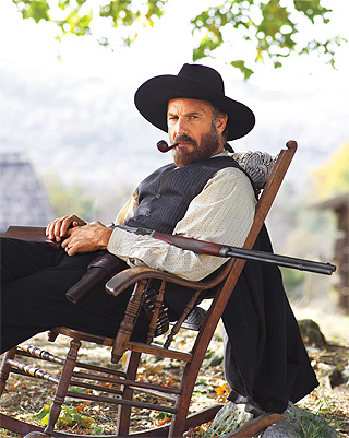 HATFIELD & MCCOYS Kevin Costner as Devil Anse Hatfield