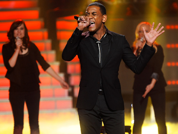 American Idol   Last week's overblown gospel version of ''She's Got a Way'' was exciting. if a bit confusing. Expect him to shine this week, with a song…