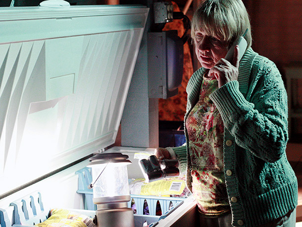 Desperate Housewives   ''Liaisons,'' April 15, 2007 (season 3, episode 18) Karen McCluskey (Kathryn Joosten) was always cranky, sure, but crazy? Well, maybe...especially after she revealed in season…