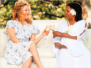 CAREER SUICIDE Kate Hudson and Whoopi Goldberg in A Little Bit of Heaven