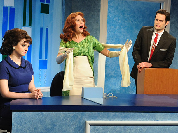 Saturday Night Live, Kristen Wiig | Debuted 11/21/09; 8 total appearances The secret word is: ''Overused.'' This '60s stage siren might not have ranked so poorly if she hadn?t popped up…