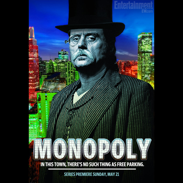 Ian McShane stars as J. M. ''Pennybags'' Vanderfeller, a wealthy, lovable, and blisteringly corrupt industrialist who won't rest until he's built four houses and one…