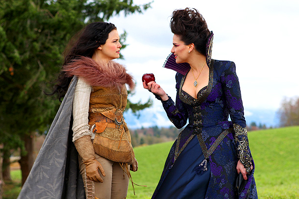 Lana Parrilla, Ginnifer Goodwin, ... | EW: If her evil deeds weren't enough to clue you into how wicked the Evil Queen can be, her fashions definitely provided all the visual…